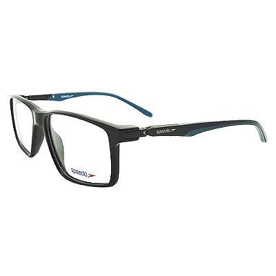 Óculos de Grau Speedo SP6115I A01 - Preto / Azul