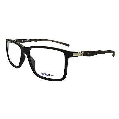 Óculos de Grau Speedo SP6109I A02 - Preto Fosco