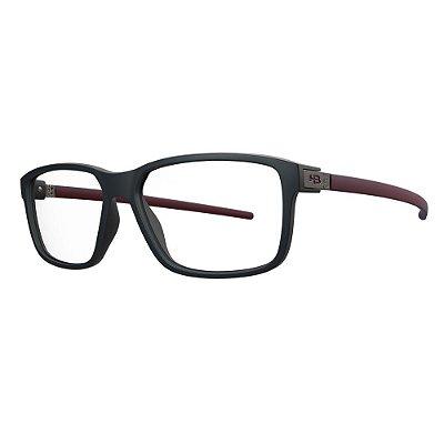 Óculos de Grau HB 93142 - Preto / Vermelho