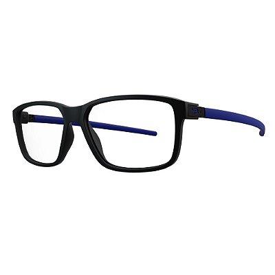 Óculos de Grau HB 93142 - Preto / Azul