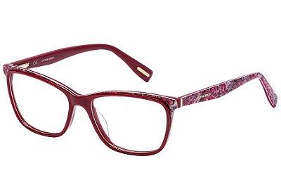 Óculos de Grau Victor Hugo VH1771 0AQ4/54 Vermelho