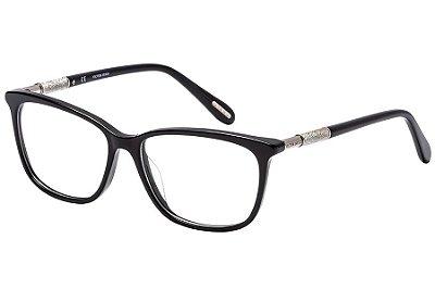Óculos de Grau Victor Hugo VH1770 700/53 Preto/Prata