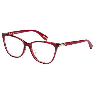 Óculos de Grau Victor Hugo VH1767 0877/53 Vermelho Mesclado