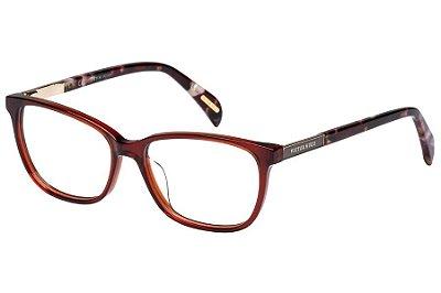 Óculos de Grau Victor Hugo VH1759 06DC/53 Vermelho Transparente/Mesclado