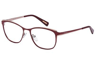 Óculos de Grau Victor Hugo VH1255 0A47/54 Vermelho