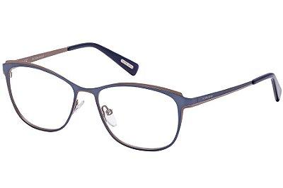 Óculos de Grau Victor Hugo VH1255 04H1/54 Azul/Nude
