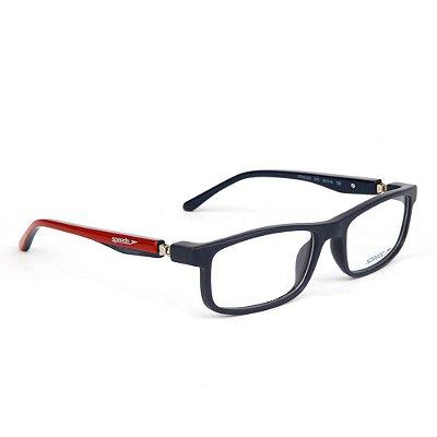Óculos de Grau Speedo SPK6000I D01/50 Preto/Vermelho