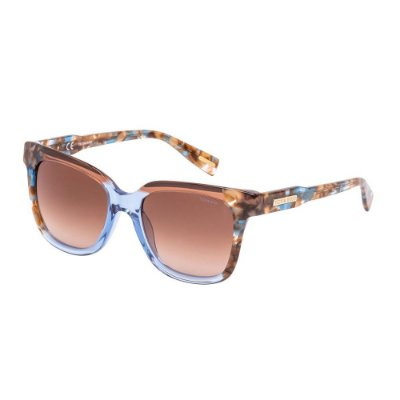 Óculos de Sol Victor Hugo SH1789 0800/52 Marrom/Azul/Tartaruga