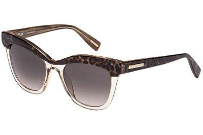 Óculos de Sol Victor Hugo SH1764 0AAH/51 Bege Transparente/Oncinha