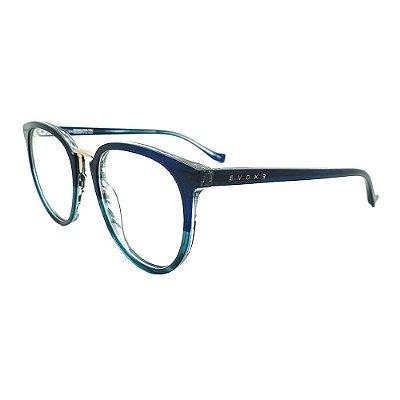 Óculos de Grau Evoke For You DX32 H01/52 Azul