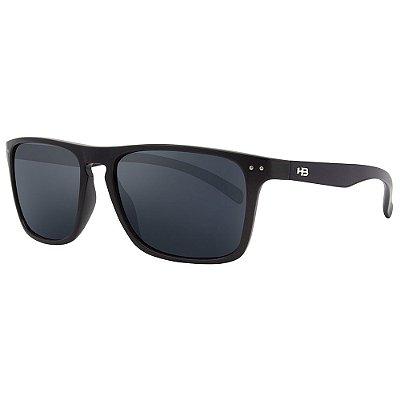 Óculos de Sol HB Cody/55 Preto - Lente Cinza