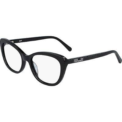 Óculos de Grau Diane Von Furstenberg DVF5123 001/52 Preto