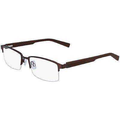 Óculos de Grau Nautica N7292 210/53 Marrom Fosco