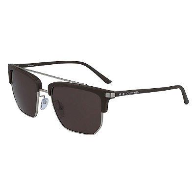 Óculos de Sol Calvin Klein CK19301S 201/54 - Marrom