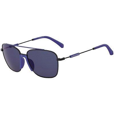 Óculos de Sol Calvin Klein Jeans CKJ18100S 001/57 Preto Fosco