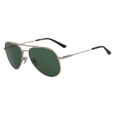 Óculos de Sol Calvin Klein CK18105S 717/57 Dourado/Verde
