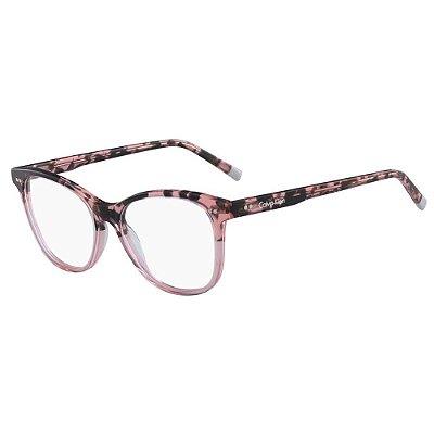 Óculos de Grau Calvin Klein CK5990 682/53 Tartaruga Rose