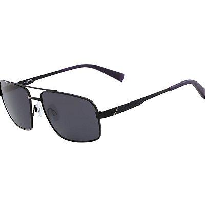 Óculos de Sol Nautica N5119S 005/58 Preto Fosco - Polarizado