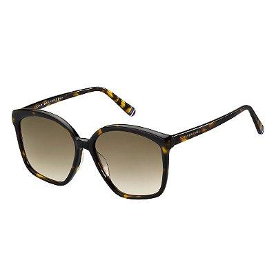 Óculos de Sol Tommy Hilfiger TH 1669/S/57 Havana Escuro