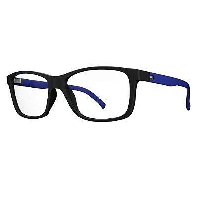 Óculos de Grau HB Polytech 93104/53 Preto/Azul Fosco