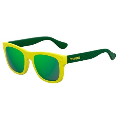 Óculos de Sol Havaianas Paraty/S/48 -Amarelo Verde