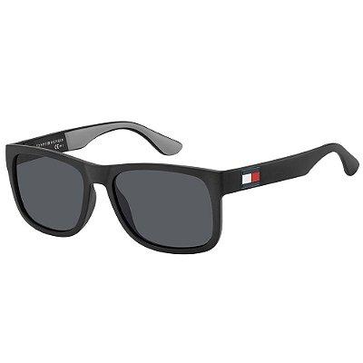 Óculos de Sol Tommy Hilfiger TH 1556/S/52 Preto/Cinza