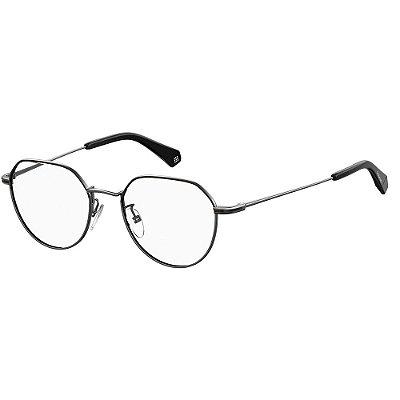 Óculos de Grau Polaroid D362/G/49 Cinza/Preto
