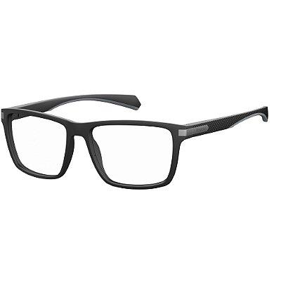 Óculos de Grau Polaroid D355/55 Preto Fosco