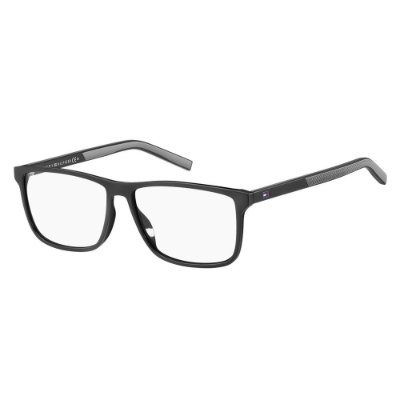 Óculos de Grau Tommy Hilfiger TH 1696/55 Preto/Cinza