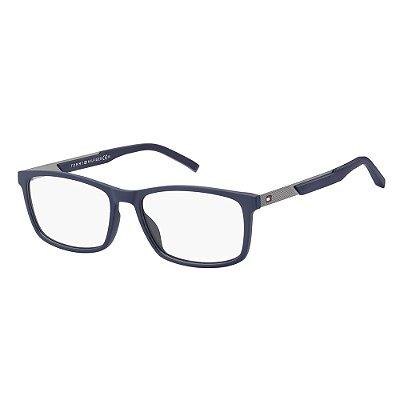Óculos de Grau Tommy Hilfiger TH 1694/55 Azul Escuro