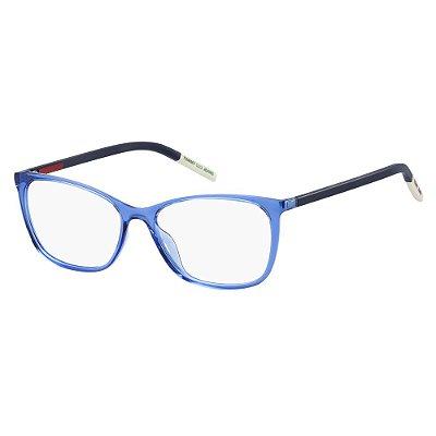 Óculos de Grau Tommy Hilfiger Jeans TJ 0020 -  54 - Azul