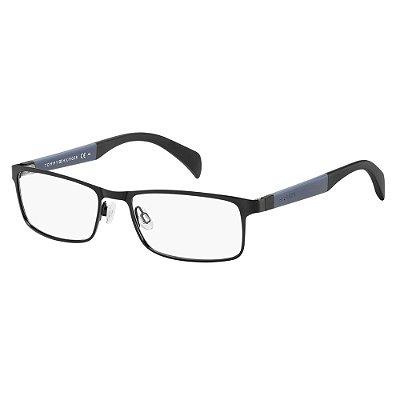 Óculos de Grau Tommy Hilfiger TH 1259 -  53 - Preto