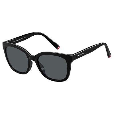 Óculos de Sol Tommy Hilfiger TH 1601/G/S -  53 - Preto