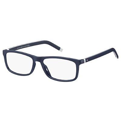 Óculos de Grau Tommy Hilfiger TH 1741 -  52 - Azul