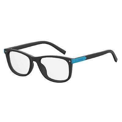 Óculos de Grau Polaroid Pld D811 -  48 - Preto - Infantil