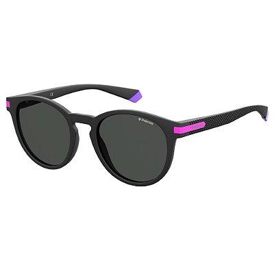 Óculos de Sol Polaroid Pld 2087/S  50 - Dourado - Polarizado