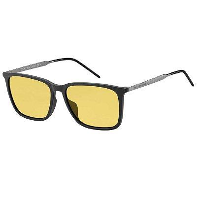 Óculos de Sol Tommy Hilfiger TH 1652/G/S -  55 - Preto