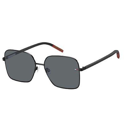 Óculos de Sol Tommy Hilfiger Jeans TJ 0007/S -  58 - Preto