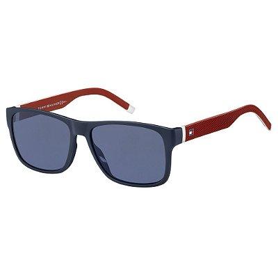 Óculos de Sol Tommy Hilfiger TH 1718/S -  56 - Azul