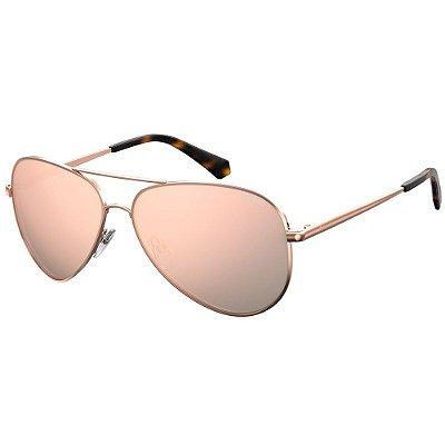Óculos de Sol Polaroid Pld 6012/N/New  62 - Dourado - Polarizado