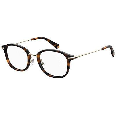 Óculos de Grau Polaroid Pld D376/G -  50 - Marrom