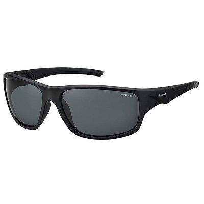 Óculos de Sol Polaroid Pld 7010/S  64 - Preto - Polarizado