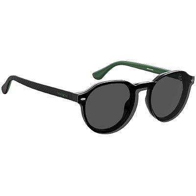 Óculos de Sol Havaianas Arraial/Cs -  49 - Preto - Clip-on