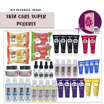 Kit Revenda Skin Care Super Poderes - 38 Itens