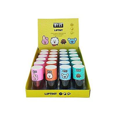Lip Tint BT21 BT17 - Box c/ 24 unid