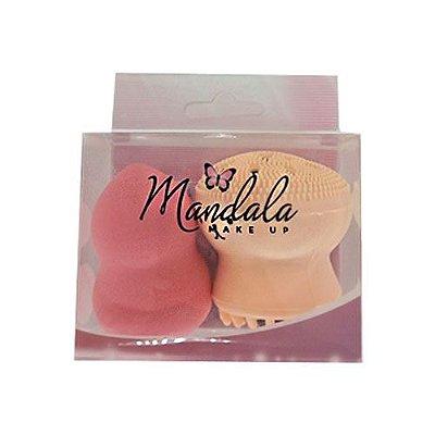 Kit de Esponja Coxinha e Esponja Polvinho Mandala FP-060