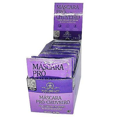 Máscara Pró Chuveiro Phallebeauty PH0532 – Box c/ 25 unid