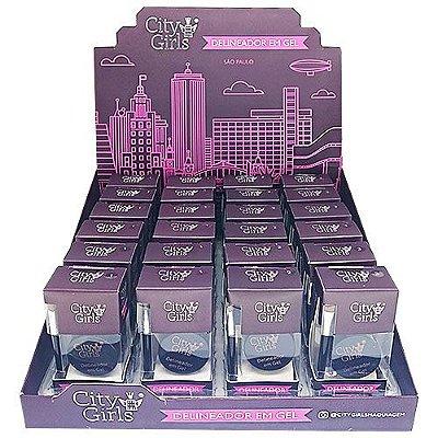 Delineador em Gel City Girls CG208 – Box c/ 24 unid