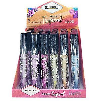 Lip Oil Fruit Potion Coleção Tropical SP Colors SP206 – Box c/ 24 unid
