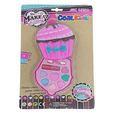 Kit de Maquiagem Infantil Cupcake Goal Kids GK1356